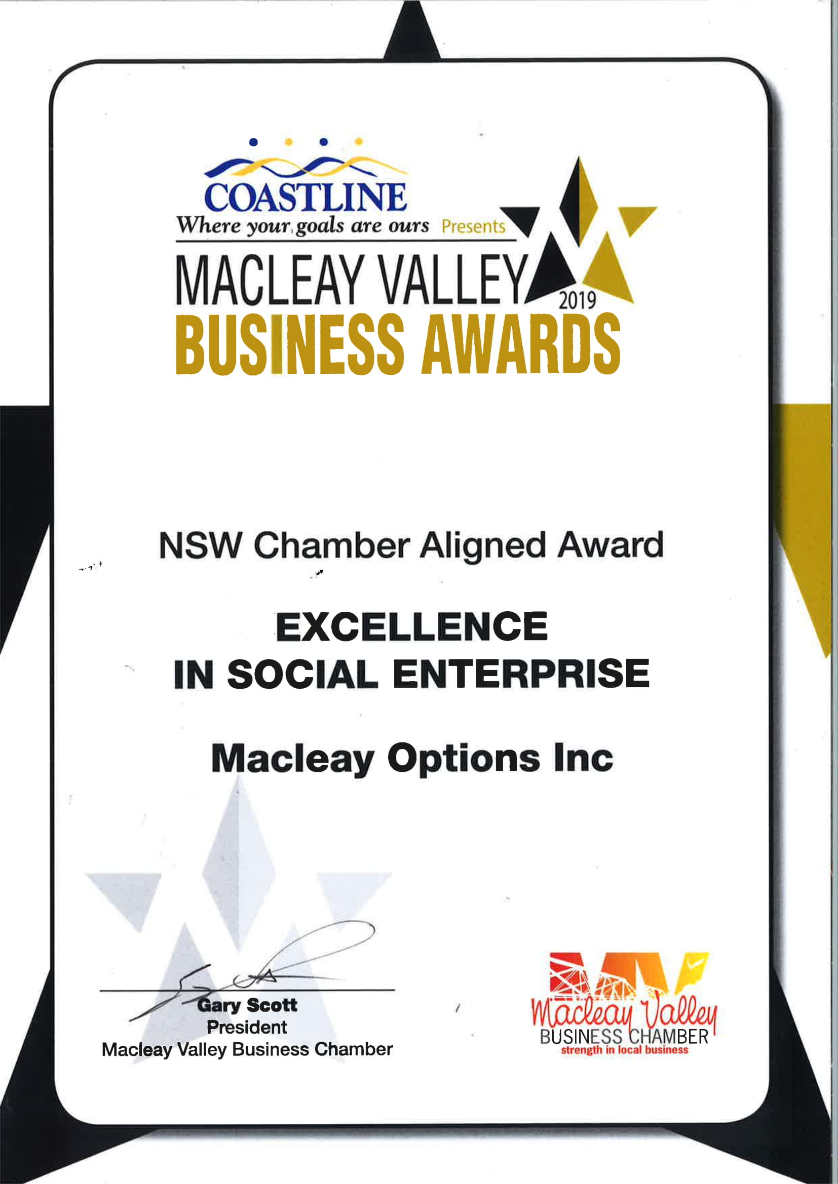 Excellence in Social Enterprise 2019