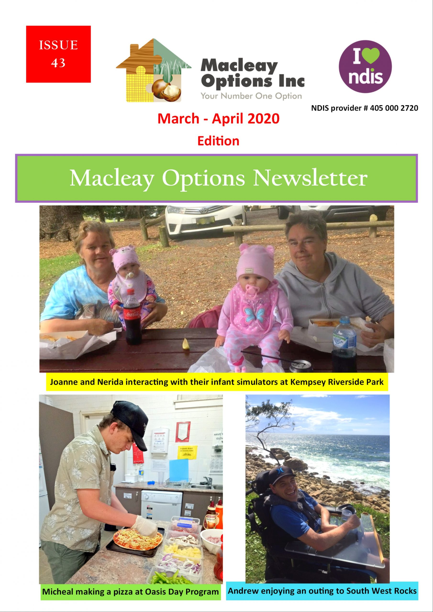 Macleay Options Inc - March April 2020 Newsletter